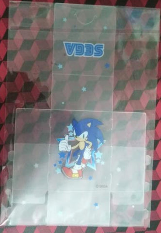 Sega Sonic Adventure The Hedgehog Trading Card Collection Plastic Box