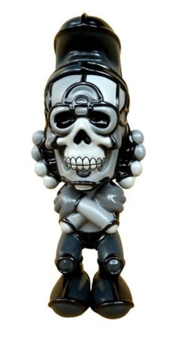 "BlackBook Toy 2013 David Flores HellFire Canyon Club Knuckle Deathead S'murks Monotone ver 7"" Action Figure"