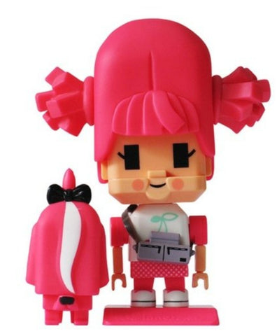 "Jason Siu 2010 TTF Inno Lovers Pink Girl 3"" Vinyl Figure"