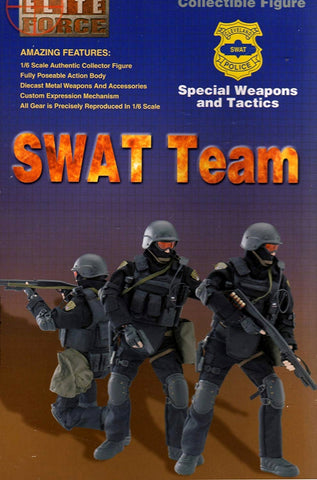"BBi 12"" 1/6 Collectible Items Elite Force SWAT Team Special Weapons and Tactics Barret Action Figure"