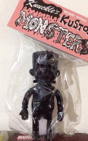 "Headlock Studio Knuckle's Kustom Mini Lil Franky All Black ver 4"" Vinyl Figure"