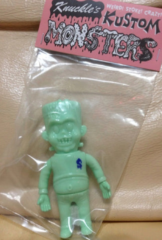 "Headlock Studio Knuckle's Kustom Mini Lil Franky All Mint Green ver 4"" Vinyl Figure"