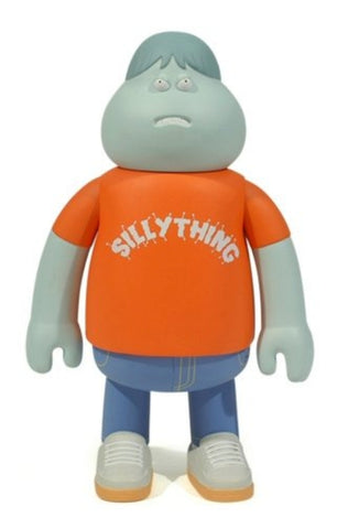 Amos Toys James Jarvis Leon Silly Thing Orange ver Vinyl Figure Used