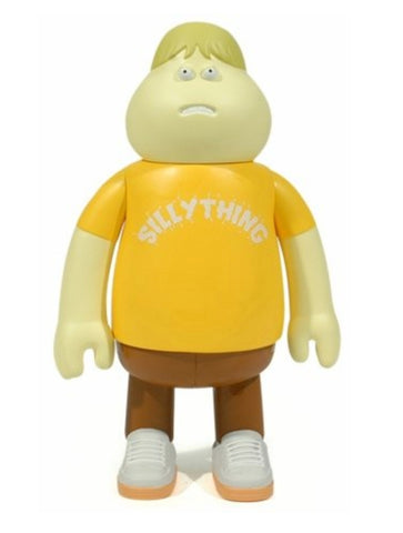 Amos Toys James Jarvis Leon Silly Thing Yellow ver Vinyl Figure Used