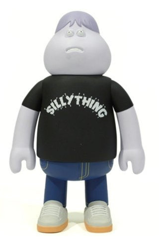 Amos Toys James Jarvis Leon Silly Thing Black ver Vinyl Figure Used