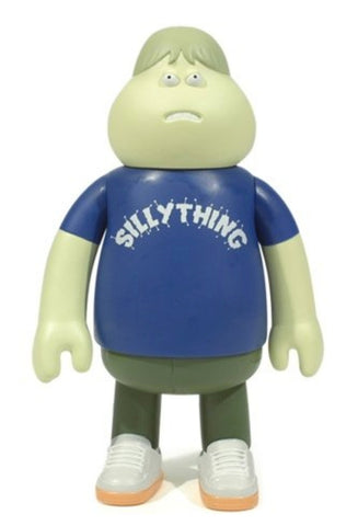 Amos Toys James Jarvis Leon Silly Thing Blue ver Vinyl Figure Used