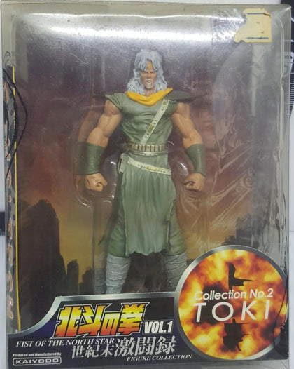 Kaiyodo Fist of The North Star Legend of Cassandra No 2 Toki Collection Figure