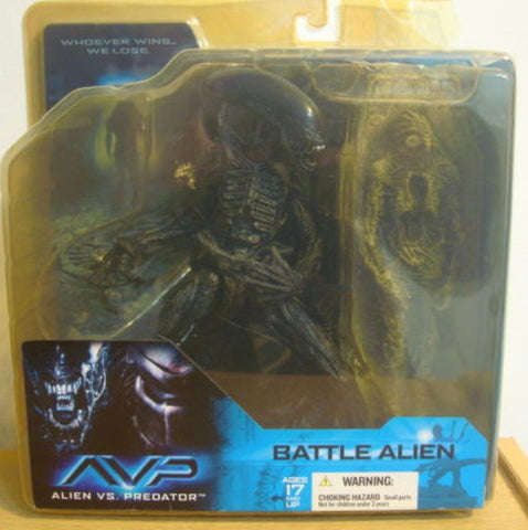 McFarlane Toys Alien vs Predator Battle Alien ver Trading Figure