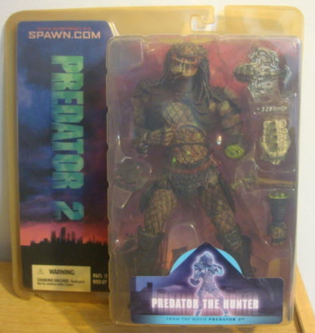 McFarlane Toys Predator 2 Predator The Hunter Trading Figure