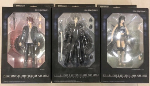 Square Enix Final Fantasy VII 7 Advend Children Play Arts 3 Action Figure Set
