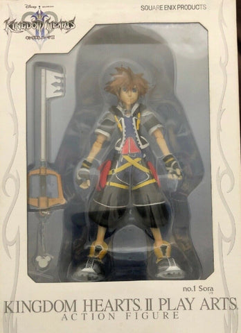 Square Enix Kingdom Hearts II Play Arts No 1 Sora Action Figure