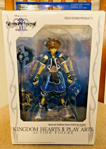 Square Enix Kingdom Hearts II Play Arts Special Edition Sora Wisdom Form Action Figure