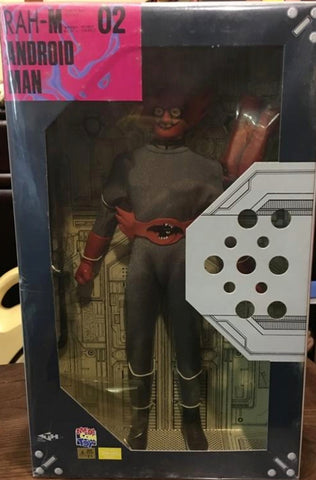 "Medicom Toy 1/6 12"" RAHM Real Action Heroes Android Man Collection Figure"