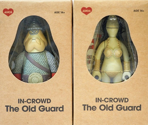 Amos Toys James Jarvis In-Crowd The Old Guard Hegnist & Paula Vinyl Figure Set