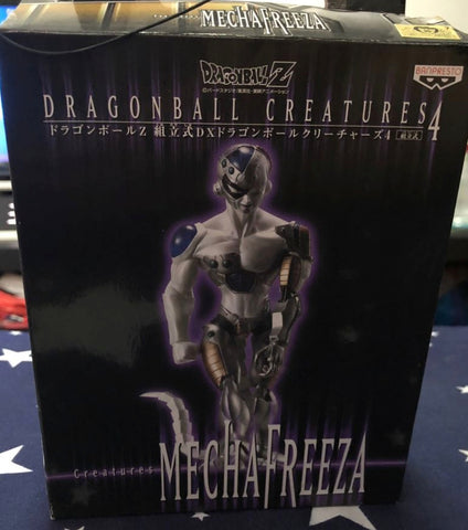 Banpresto Dragon Ball Z DX Creatures Part 4 Mecha Freeza Trading Figure