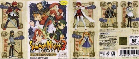 Unifive Summon Night 3 6+1 Secret Trading Figure Set