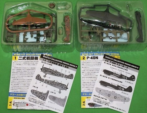 F-toys 1/144 WKC Wing Kit Collection VS9 Versus Series 9 9+2 Secret 11 Trading Figure Set