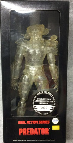 "Medicom Toy 1/6 12"" RAH Real Action Heroes Predator Crystal Limited Edition Collection Figure"