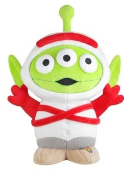 "Pixar Toy Story Family Mart Limited Aliens Cosplay Party Forky ver 15"" Plush Doll Figure"