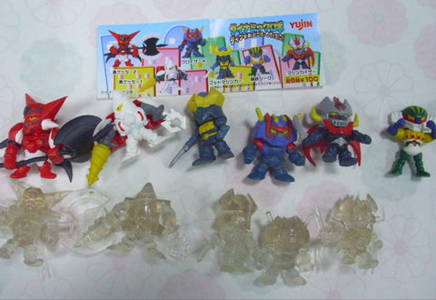 Yujin Super Robot Wars SRW Gashapon 6+6 12 Trading Figure Set