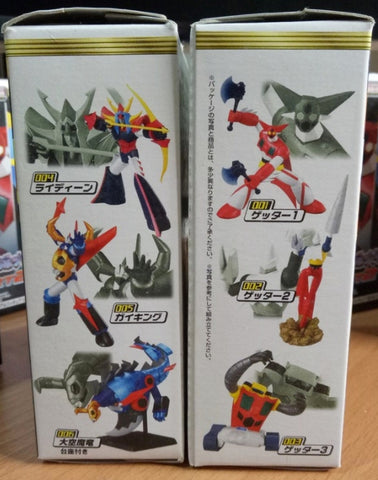 Bandai Best Posing Collection Super Robot Wars SRW Part 2 6 Figure Set