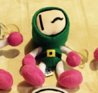 "Taiwan Limited Bomberman Green ver 6"" Plush Doll Figure"