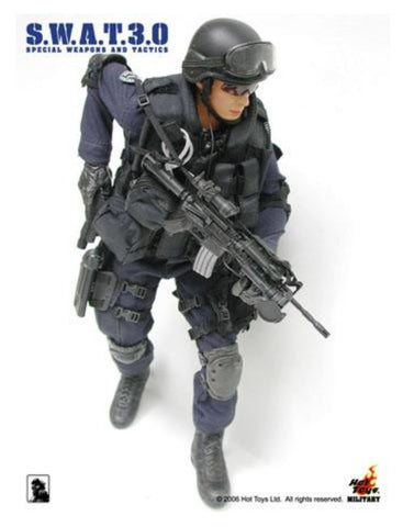 "Hot Toys 1/6 12"" S.W.A.T. 3.0 Special Weapons and Tactics Male ver Action Figure"