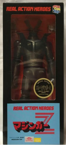 "Medicom Toy 12"" RAH Real Action Heroes Mazinger Z Crystal Black Limited Edition Action Figure"