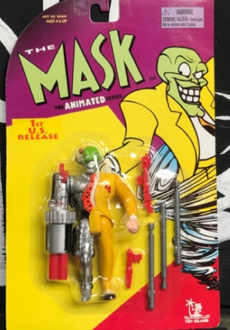 Toy Island The Mask Animated Series Cyborg Mask Action Figure