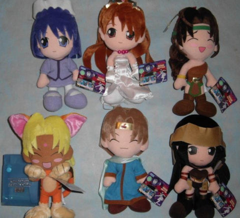 Sega Prize Love Hina 6 Dragon Palace Legends ver Plush Doll Collection Figure Set