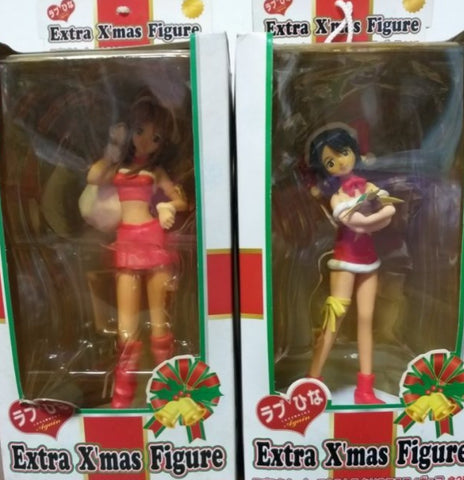 Sega Love Hina Extra X'mas Christmas Collection 2 Trading Figure Set