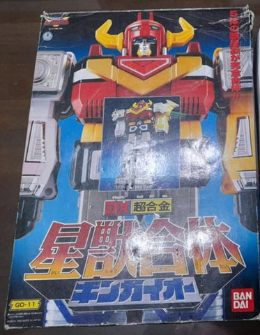 Bandai Power Rangers Lost Galaxy Gingaman DX Chogokin GD-11 Megazord Action Figure