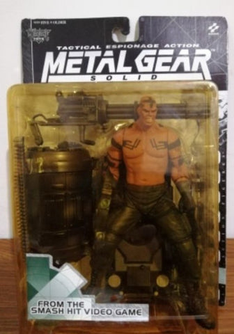 McFarlane Toys 1999 Konami Metal Gear Solid Tactical Espionage Vulcan Raven Action Figure