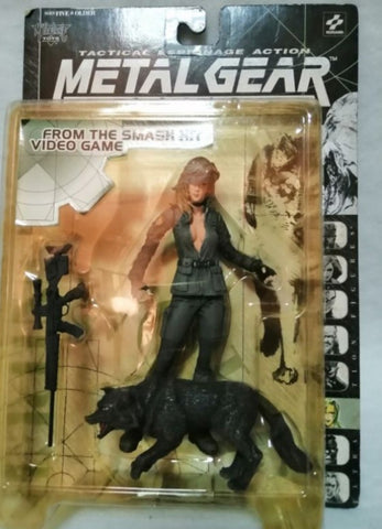 McFarlane Toys 1999 Konami Metal Gear Solid Tactical Espionage Sniper Wolf Action Figure