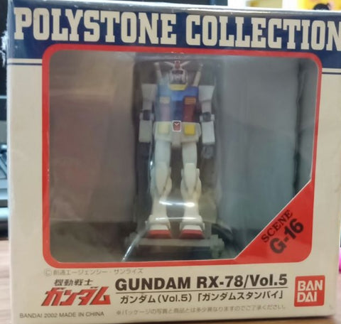 Bandai Polystone Collection Scene G-16 Mobile Suit Gundam RX-78 Vol 5 Trading Figure