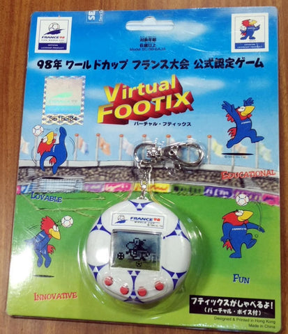 Sega Virtual Footix France 98 LSI Electronic Handheld Game