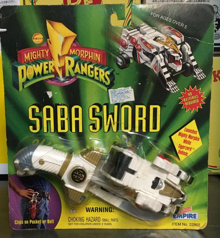 Empire 1994 Power Rangers Gosei Sentai Dairanger Weapon Saba Sword White ver Action Figure