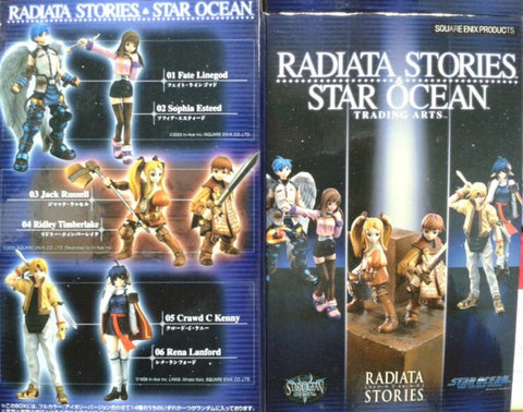 Square Enix Radiata Stories Star Ocean Trading Arts 6 Collection Figure Set Used