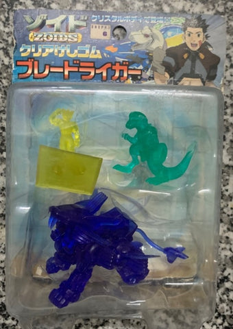 Tomy Zoids 3 Crystal Mini Trading Figure Set
