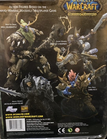 World of Warcraft Series 2 4 Trading Figure Set