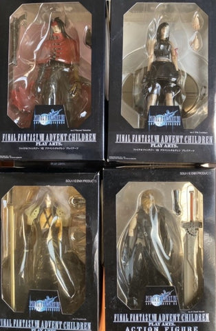 Square Enix Final Fantasy VII 7 Advend Children Play Arts 4 Action Figure Set