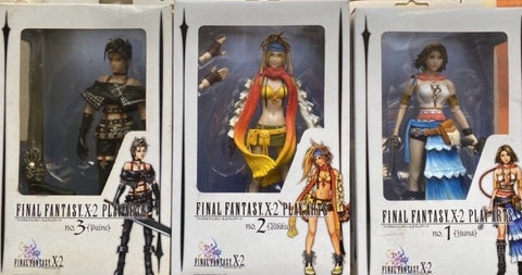 Square Enix Final Fantasy X-2 Play Arts 3 Action Figure Set