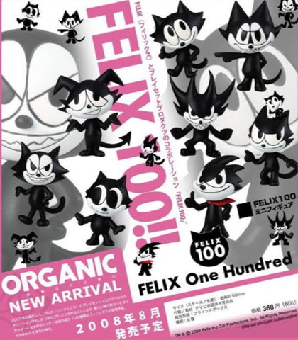 Felix the Cat 100 One Hundred 8 Mini Collection Figure Set