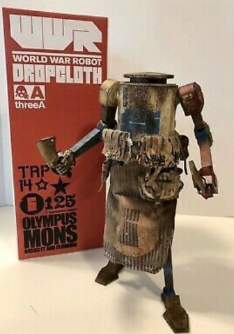 ThreeA 3A Toys 2011 1/6 Ashley Wood WWR Dropcloth Slaughter House ver Vinyl Figure
