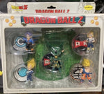 Unifive Dragon Ball Z Collection Box Part 1 5 Figure Set