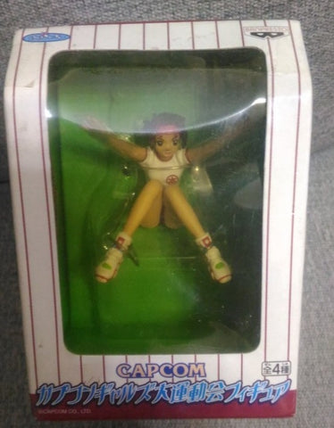 Banpresto Capcom Gals Collection Sports Competition Street Fighter Sakura Trading Figure Set
