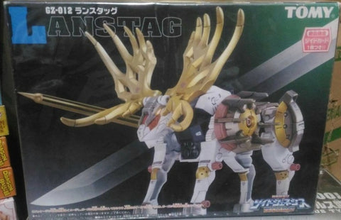 Tomy Zoids 1/72 GZ-012 Lanstag Moose Type Plastic Model Kit Action Figure