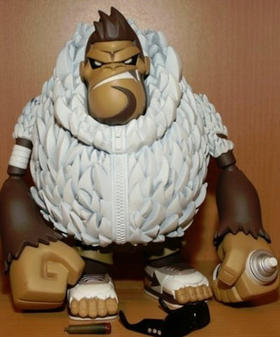 "DaTeamBronx Tim Tsui Bling Da Ape Brown ver 8"" Vinyl Figure"