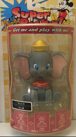Sega Disney Characters Super Rockin No 13 Dumbo Bobble Head Figure