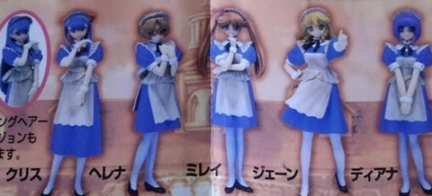 Millennium DGP Digital Gals Gashapon Elysion 5 Figure Set